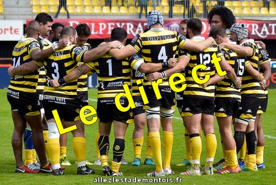 direct rcvannes - stade montois rugby